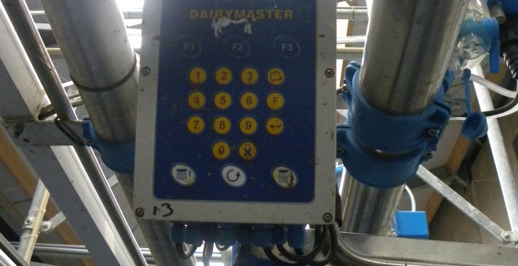 What happened when the BBC visited Dairymaster