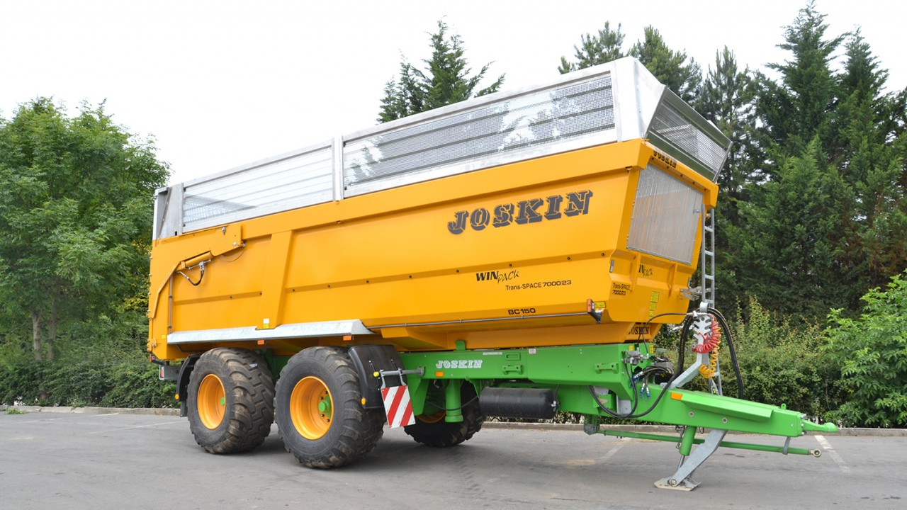New easy to use extensions for Joskin trailers