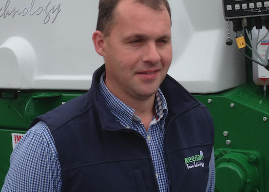 New Keenan area manager for Cork region