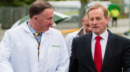 Is Fine Gael losing touch with grassroot farmers?