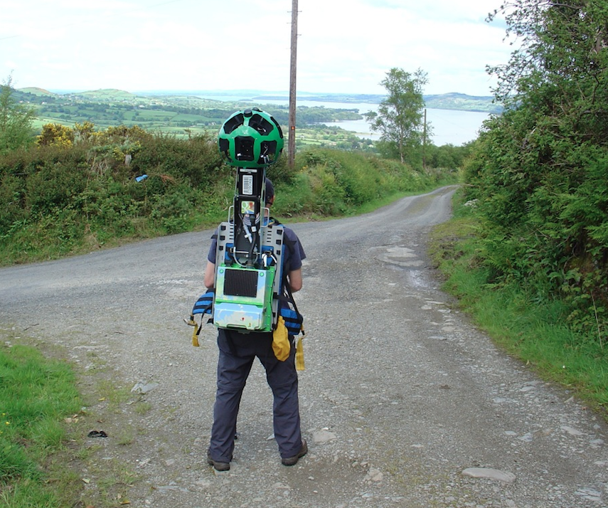 Eoin Hogan on his way to capturing 46km of Co. Clare views.