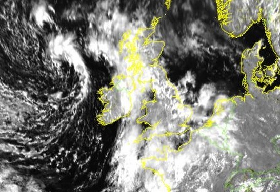 The tail end of Hurricane Bertha could be in store for Sunday