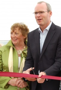 Simon Coveney officially opened Tullamore Show