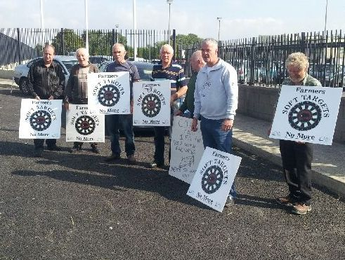ICSA protests continue, at ABP in Bandon today