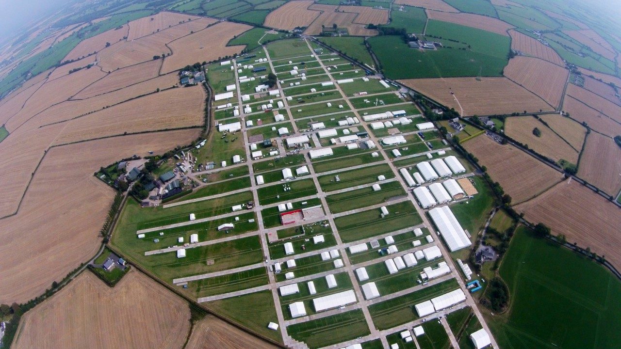 How to plan the best route to the 2015 Ploughing site