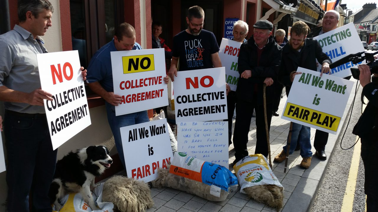 Hill farmers to march on Enda Kenny's office