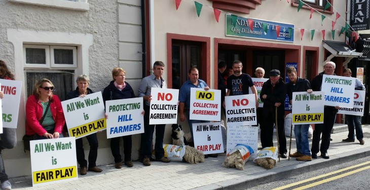Commonage protest to continue despite Minster's announcements