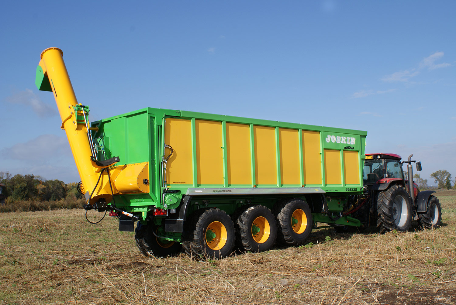 New auger option on Joskin grain trailer - Agriland ie
