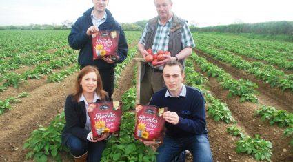 Ireland imports 120,000 tonnes of potato products annually