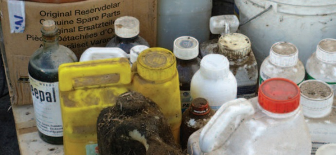 Hazardous farm waste collection nationwide