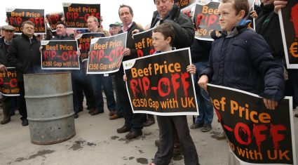 Holiday and protest sees beef kill fall 10,000 head last week