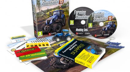 New Holland Agriculture supports virtual farm simulation on Farming Simulator 15