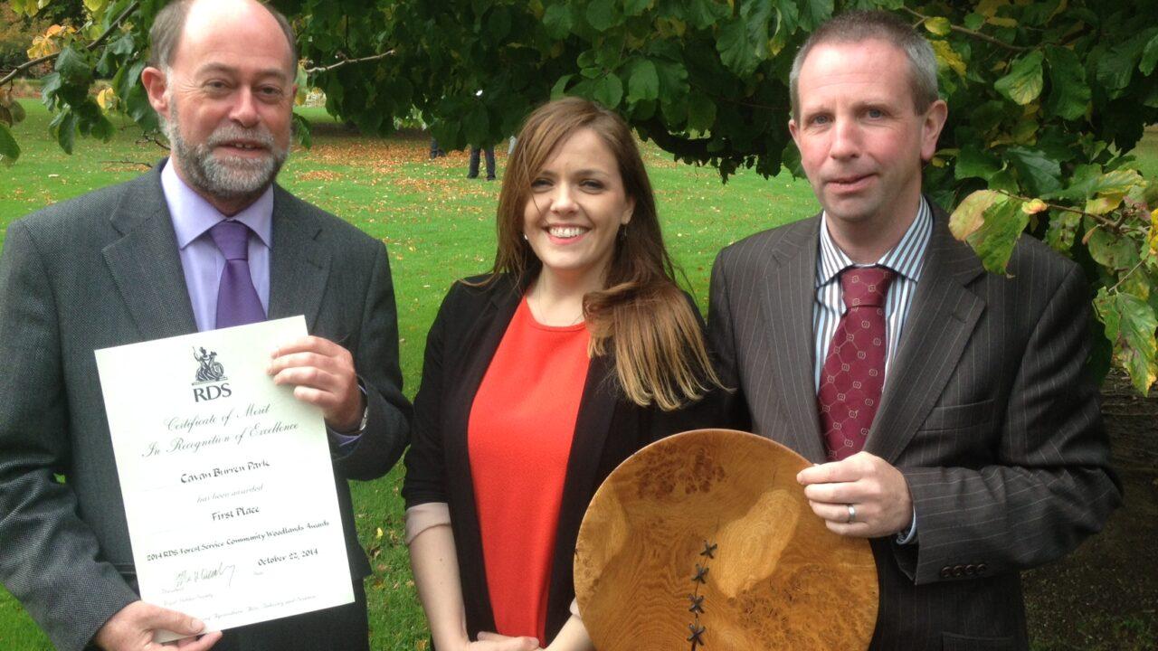 Cavan Burren Park wins RDS woodlands award