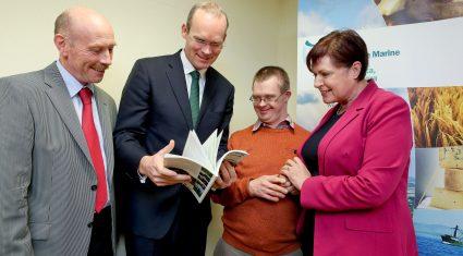 Coveney launches new social farming handbook