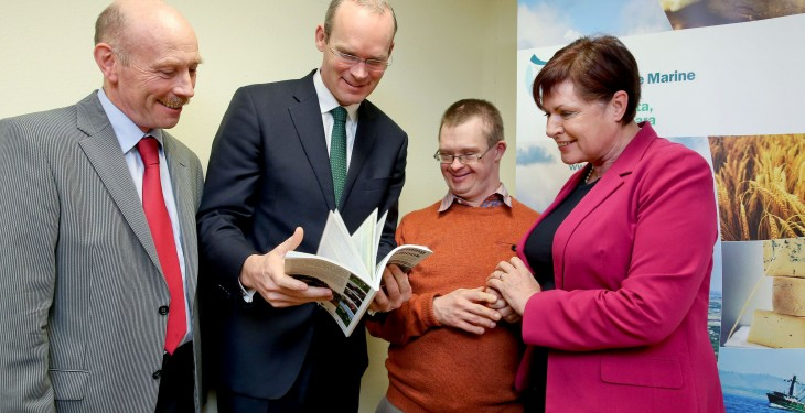 Coveney launches new social farming handbook