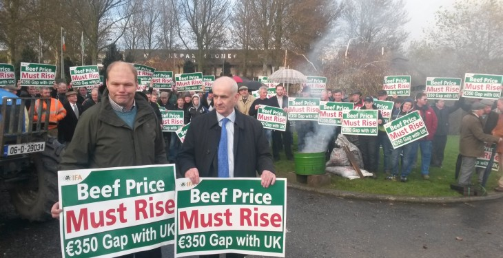 Protests fail to deliver on beef price, but negotiations a step in right direction