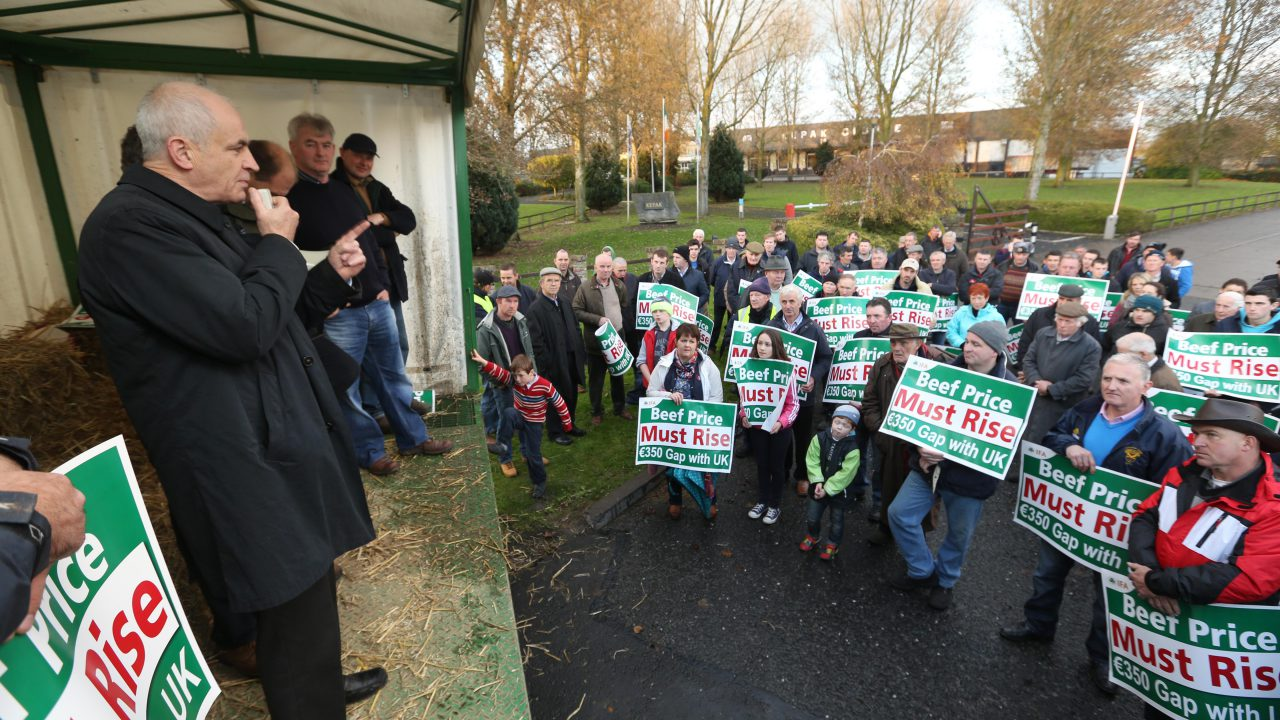 Calls for compensation for beef plant workers for losses due to IFA protests