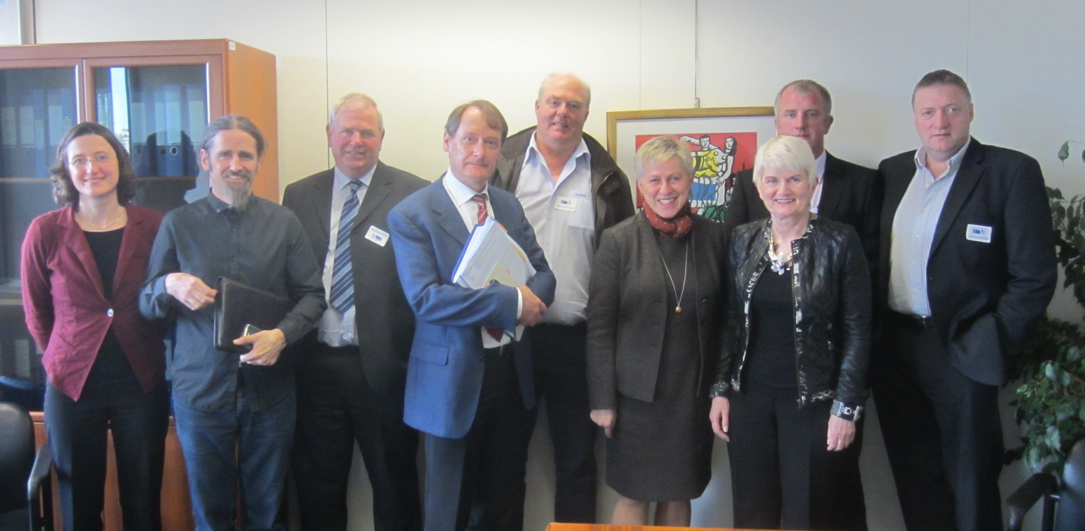 Independent MEP Marian Harkin organised a series of meetings in Brussels for hill and commonage farmers with senior officials of the European Commission to discuss the need for flexibility in the interpretation of regulations relating to commonage usage