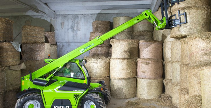New Merlo turbofarmer range launched in Ireland