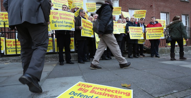 IFA takes protest to Competition Authority's doors