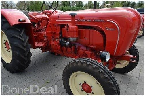 €50,000 Porsche tractor for sale on Donedeal
