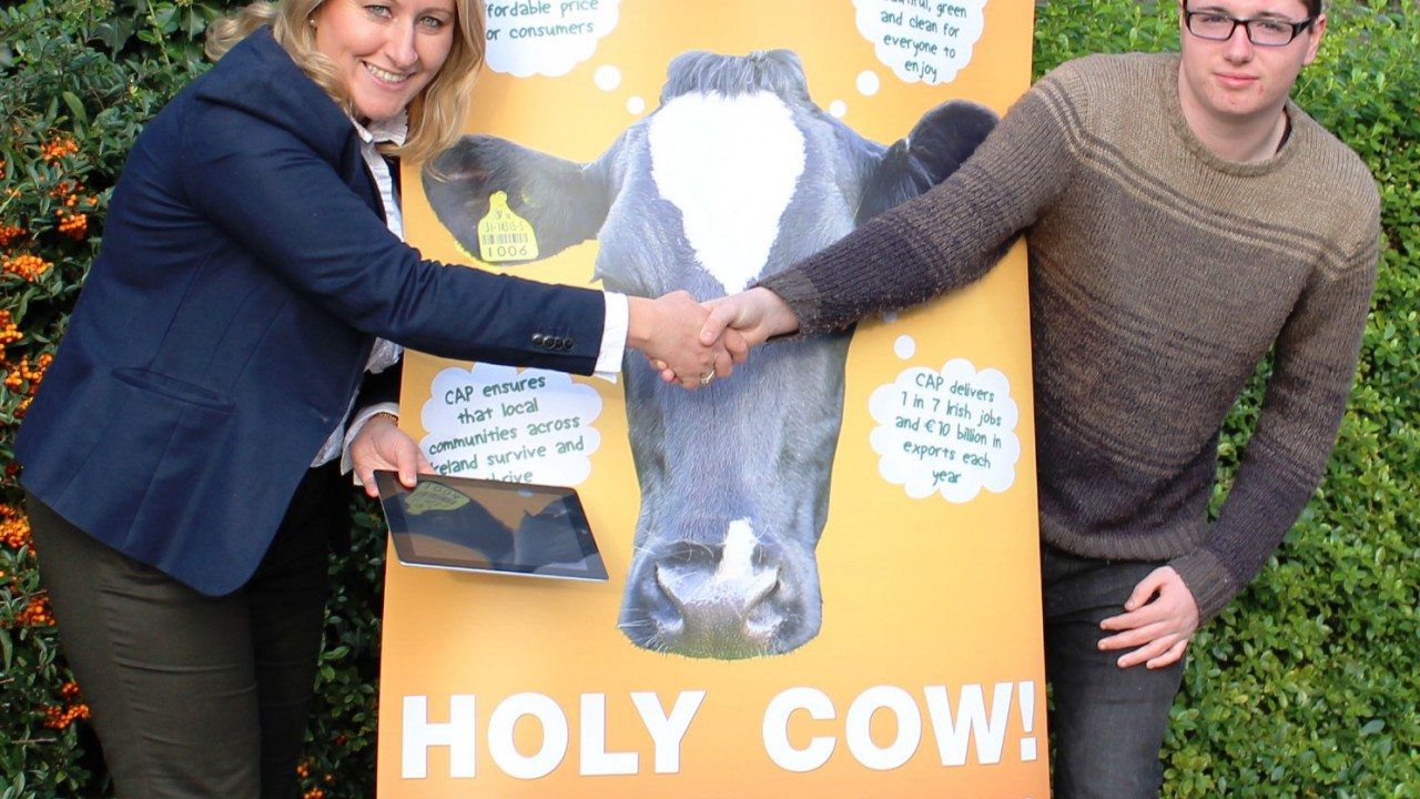 Dublin student wins Holy Cow! competition