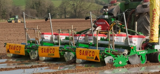 Samco maize planting system to improve productivity in Inner Mongolia