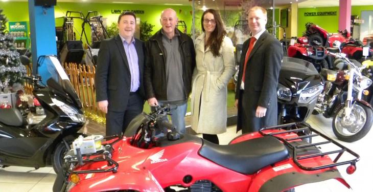 Kilkenny farmer wins Honda Quad worth €6,000