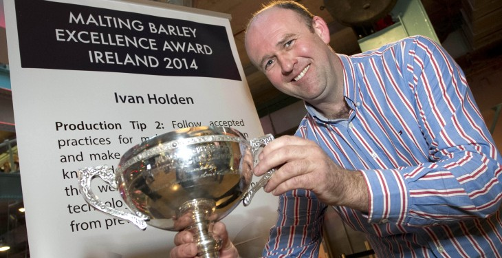 Ivan Holden crowned top Irish malting barley grower