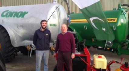 Irish machinery set to star on 15,000-cow Pakistani farm