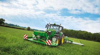 John Deere has big plans 2015 Punchestown machinery show
