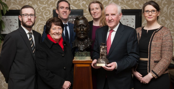 Bandon Co-op's Gus O'Brien receives ICOS Plunkett award