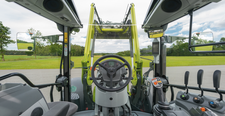 Claas wins SIMA gold for panoramic tractor cab