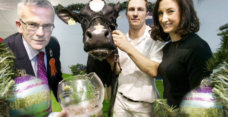 Clean sweep for southern dairy breeders at Winter Fair