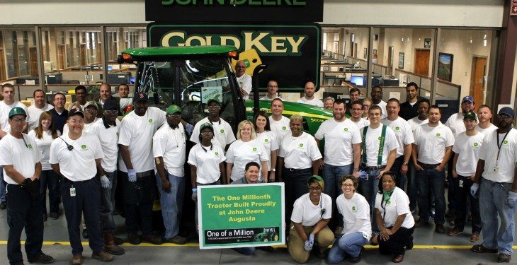 Augusta produces 1 millionth John Deere tractor