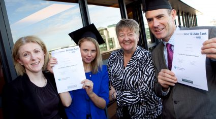 Ulster Bank staff awarded ag' finance certificates