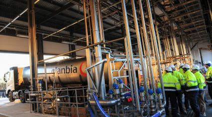 First milk goes through Glanbia's Belview plant