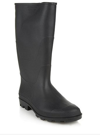 In case there's little time left for you to order online we like the Black  Paddington wellies from Debenhams.