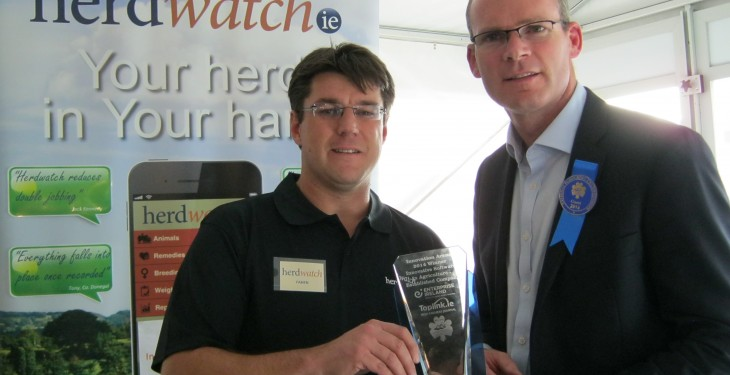 Herdwatch wins emerging new business award