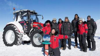 Massey Ferguson completes 5,000km Antarctic adventure