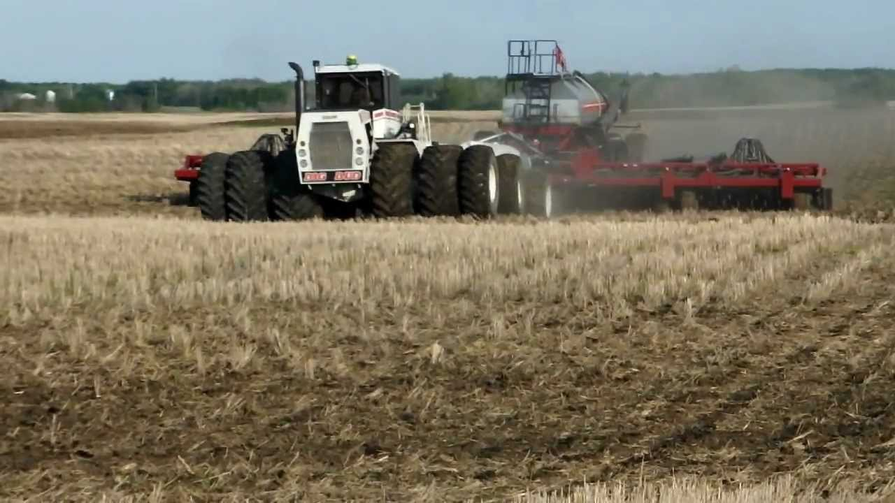 World's biggest tractor built to pull 80ft cultivator