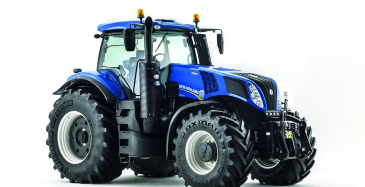 New Holland upgraded T8 tractor range set for UK debut at LAMMA 2015