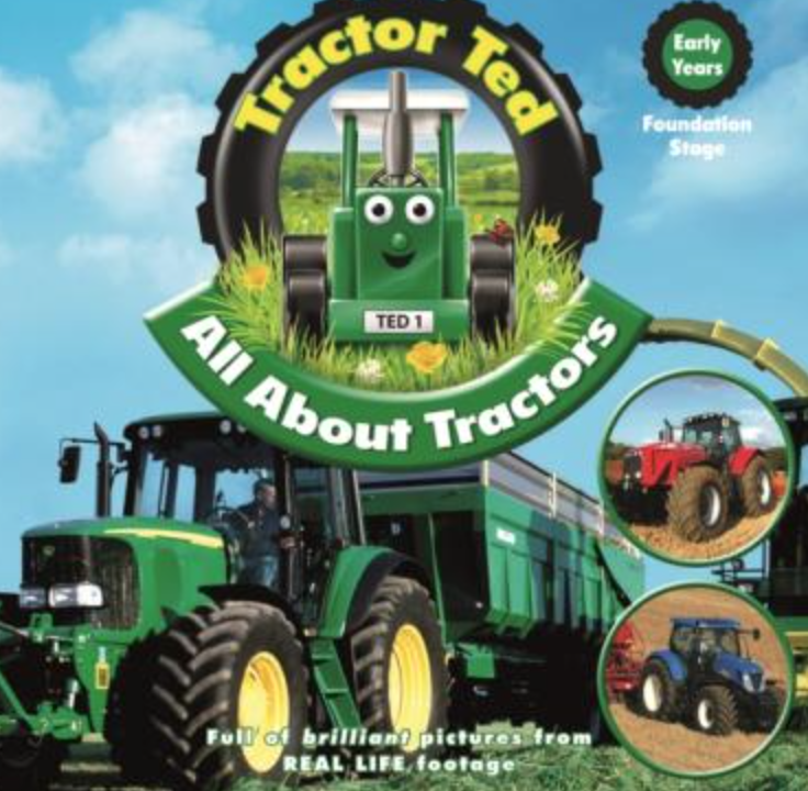 Books of tractors to fill those Christmas stockings