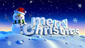 Happy Christmas to all our readers
