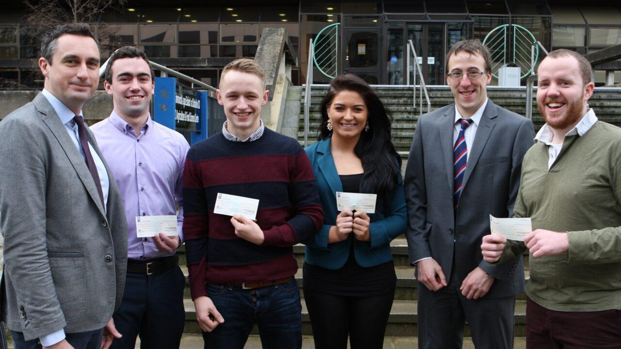 Four UCD ag students receive AIB bursaries