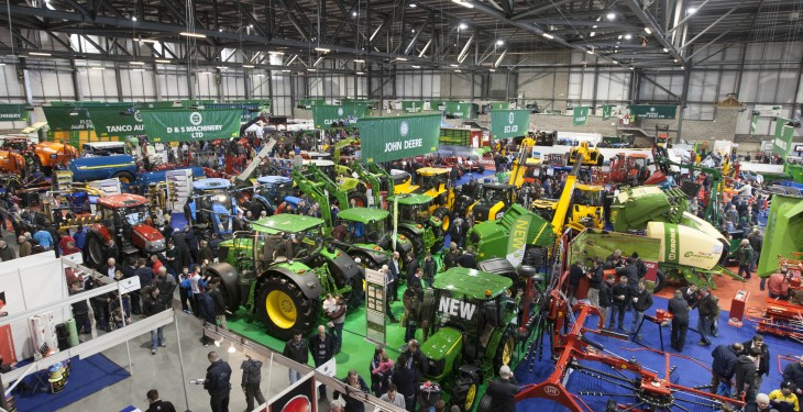 Irish exhibitors at Paris machinery show