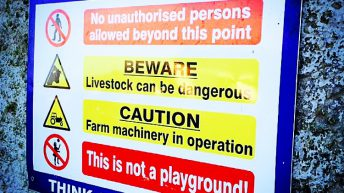 Creed urges farmers to take heed of Farm Safety Week