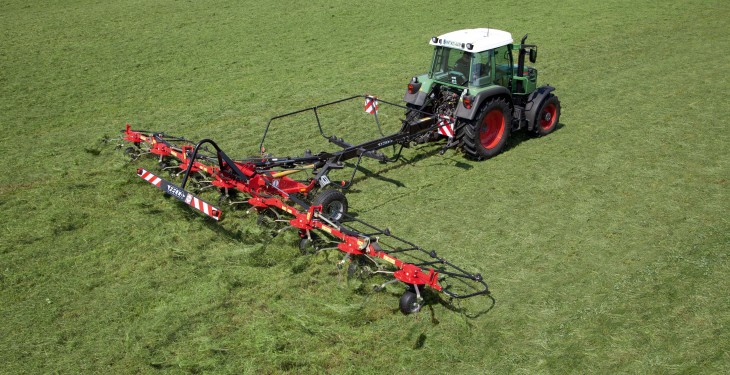 New model joins Fella 'transport' tedder range