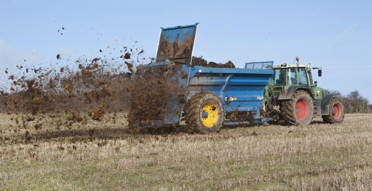 Still time to get farm yard manure out (deadline next week)