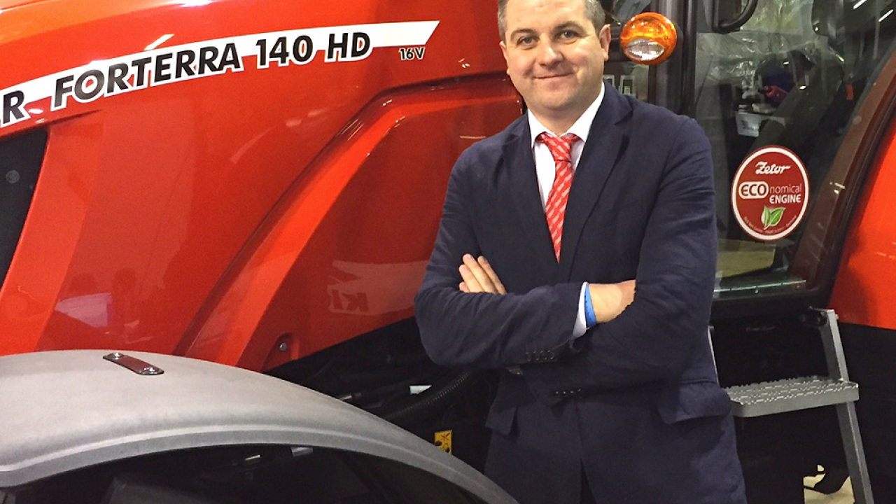 Zetor tractors appoints new sales manager for Ireland